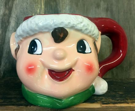 Giant Elf Hot Chocolate / Coffee Festive Christmas Mug